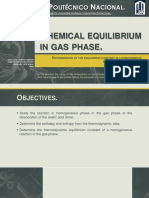 Chemical Equilibrium in Gas Phase