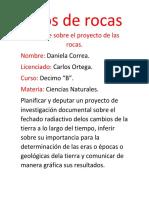 Informe sobre el proyecto de las rocas.docx