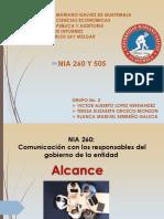 Nia 260 Y 505