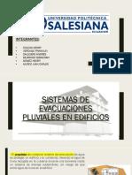 Sistema de Evacuacion Pluvial de Edificio