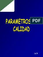 2 Modulo Parametros de Calidad