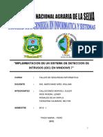 Implementacion de Un Sistema de Deteccion de Intrusos Idc en Windows 7