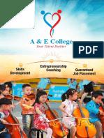 A E College Prospectus v2