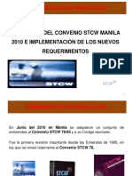 Implementacion Stcw Manila 2010