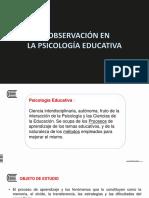 Observacion Psico Educativa