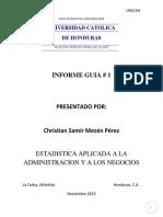 Guia 1 Christian Mezen