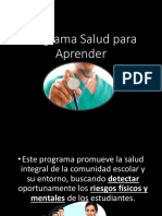 Programa Salud Para Aprender 1