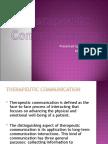 Therapeutic Communication techniques presentation
