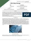 DNA DATA STORAGE | J4RV3I11007