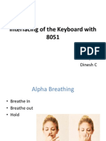 Interfacing of the Keyboard With 8051