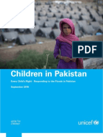 Children in Pakistan 20 September 2010