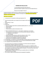 Carcinoma Hepatocelular Villalobos