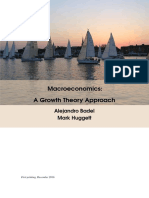 Macroeconomics-A Growth Theory Approach