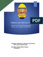 Perfil Proyecto
