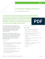 Datasheet-Creo Interactive Surface Design Extension-En