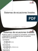 Sistema Ecuaciones Lineales