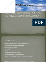 Distribution Logistics and Supply Chain Management