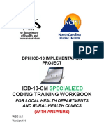 ICD 10 CM SPECIALIZED CodingWorkbookwithAns v1.1