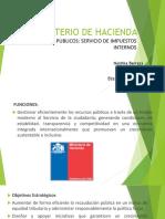 Ministerio de Hacienda Servicios Públicos