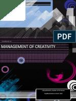 Management of Creativity E-book