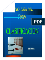 Microsoft PowerPoint - Módulo Charlas Clasificación V2