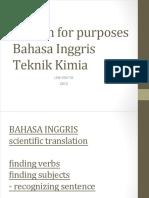 Modul 1- English for Purposes