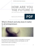 What is fintech and why does it matter to all entrepreneurs.pdf
