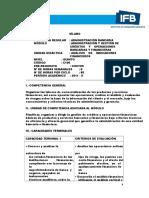 Syllabus-Análisis de Indicadores Financieros