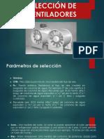 SELECCIÓN DE  VENTILADORES.pptx