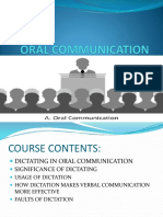 Oral Communication 8th Lecture
