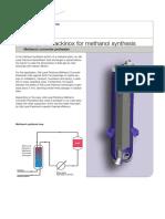 Packinox Methanol Synthesis