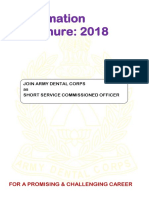 Indian Army Dental Corps Recruitment 2018