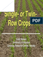 07 Single or Twin Row Row Crops Nelson