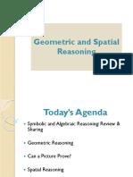 Geometric and Spatial Reasoning Presentation