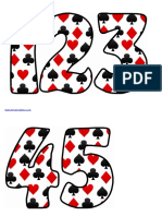 Cards Numbers