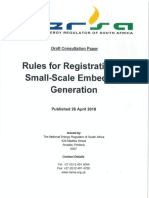 Rules for Registration of Small Scale Embedded Generation