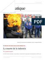 La Muerte de La Industria