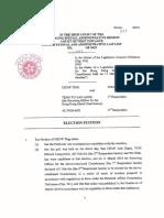 Agnes Chow election petition