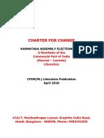 CPIML Manifesto (English)