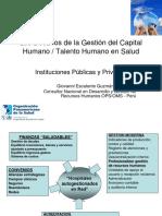 Gest i ó n Capital Human o Salud