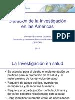 Situación de la Investigación en Salud en las Américas