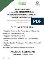 Kebijakan Promkes 2017 BKL.ppt