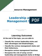 BRM 2.0 Leadership, Management 2015