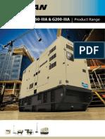 Brosur Generators G150 G200 IIIA En