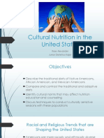 cultural nutrition in the united states