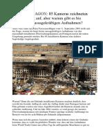9-11 Verschwörung Oder Zufall