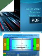Dasar-Dasar Rekayasa Transportasi