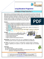 Course_Design of Press Tools for Mss