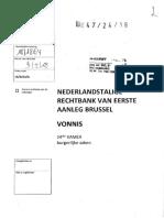 Vonnis Willem Asaert vs DPP