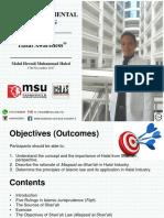 Halal Awareness_Halal Fundamental Training 2017